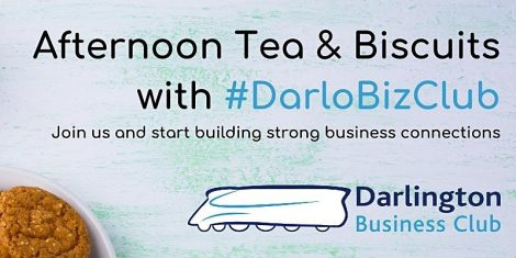 #DARLOBIZCLUB Afternoon tea & biscuits @ Online