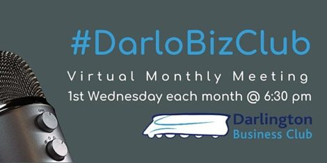 Darlington Business Club Monthly Networking event @ Online