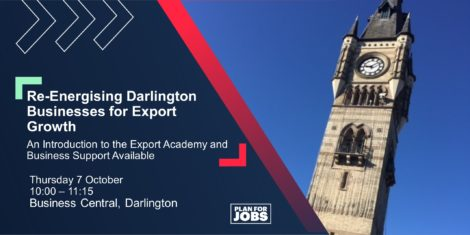 Re-energising Darlington Businesses for Export Growth @ Business Central